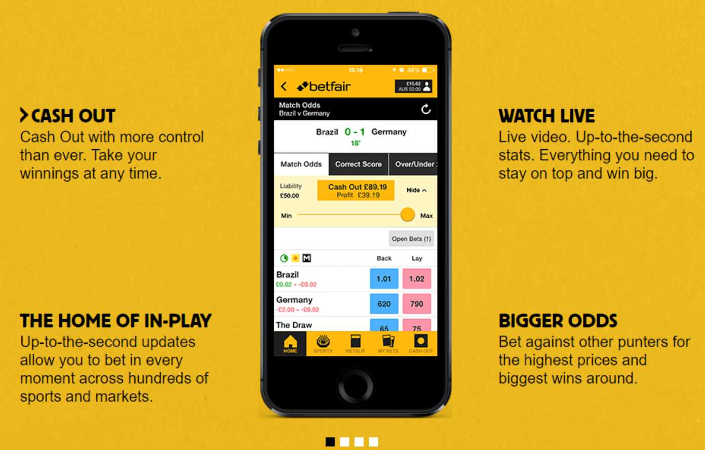 Betfair free to download app one can't live without it