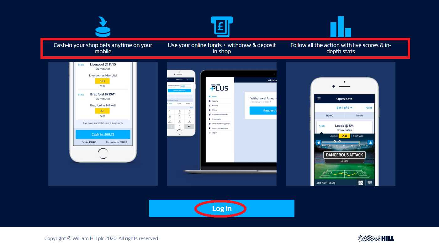 Top mobile App powered by William Hill Android